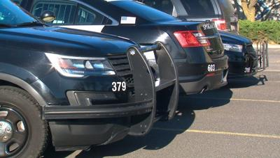 Spokane Police Patrol Cars
