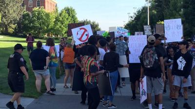 Washington State University hosts anti-racism rally