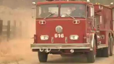 Lawyer with firetruck helps fight Okanogan fires