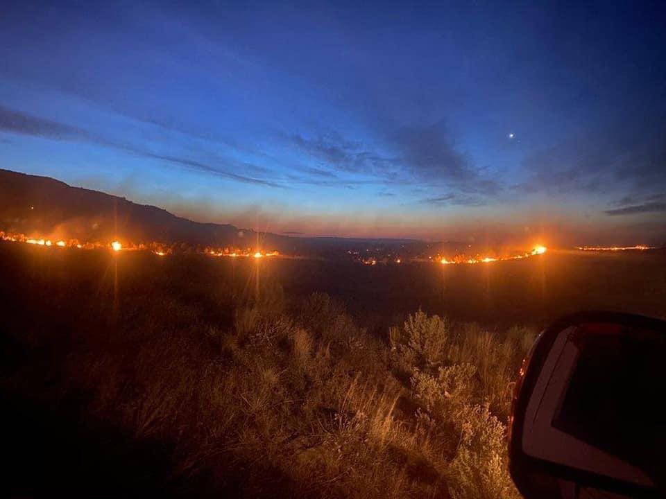 SVFD road 11 fire