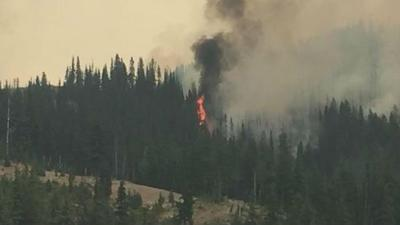 """Go now"" fire evacuations expanded for Jolly Mountain fire in Kittitas County"
