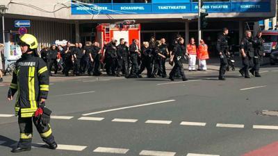 3 dead, 20 injured in crash into German crowd