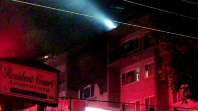 One person burned in apartment fire in Spokane