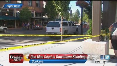 Juvenile arrested in downtown Spokane shooting