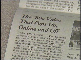 EWU student pranks the New York Times