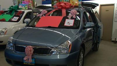 Three Spokane Families Going Through Hardships Win Free Minivan