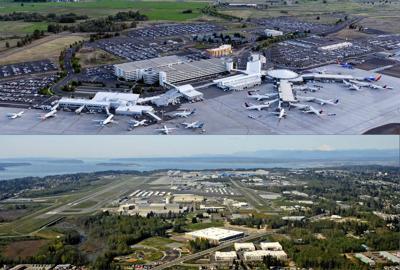 Spokane Everett Flight daily