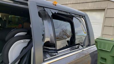 Thieves Ransack Womans Rental Car Destroy Seats