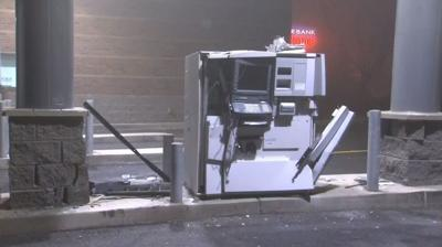 Forklift used in attempted ATM theft in north Spokane
