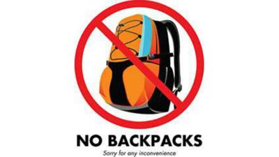 Idaho high school bans backpacks following threats