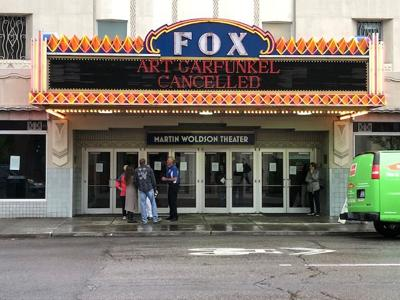 Flooding at Fox Theater