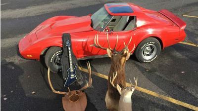 Law enforcement agencies recover stolen Corvette, FIrebird