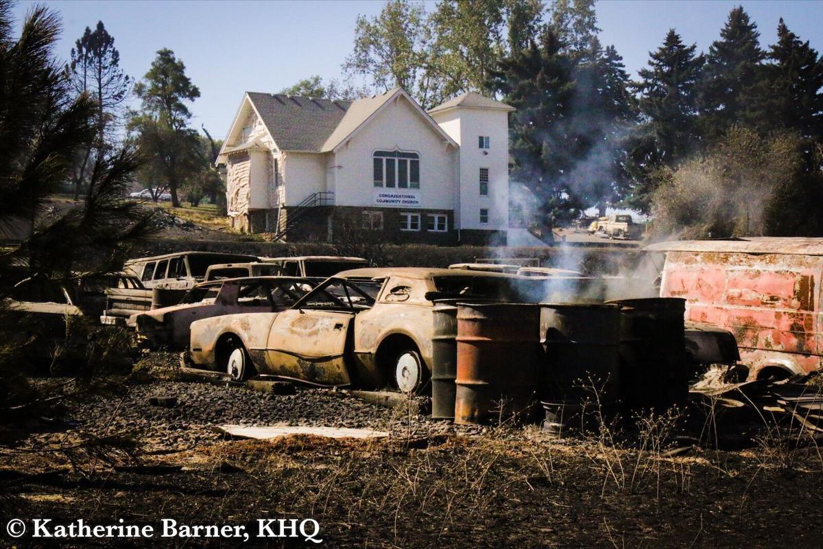 PHOTOS: Babbs Road Fire destroys town of Malden