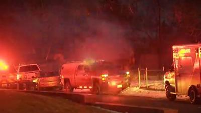 One person rescued from Spokane house fire