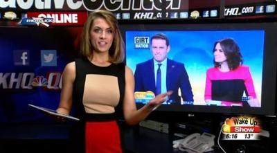 Hot Clicks: News anchor wears same suit for a year, no one notices