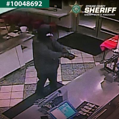 Authorities looking for suspect in armed robbery at Spokane Valley Krispy Kreme