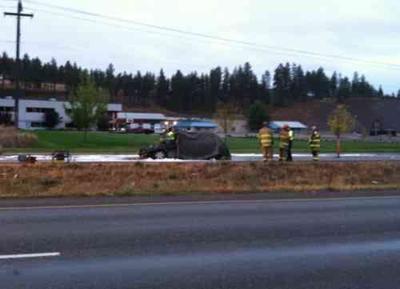 Man Killed In Post Falls Car Fire Identified
