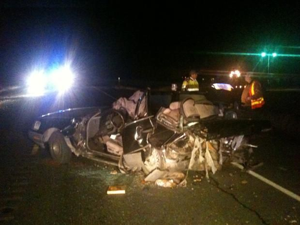 UPDATE: Infant Dies In Highway 395 Crash | News | khq com