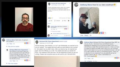 Anthony Akers Richland PD comments