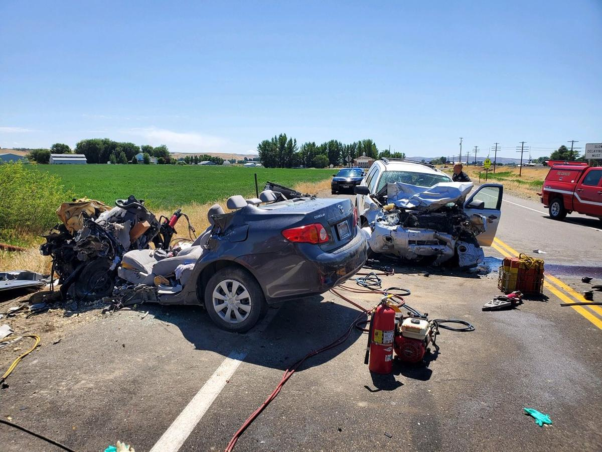 Idaho State Police investigating fatal two-vehicle crash on
