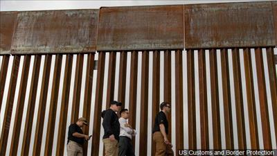 White House threatens executive action over border wall