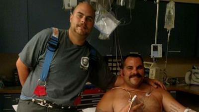 Firefighter saves brother in Oldtown fire