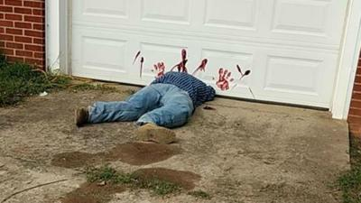 Halloween decoration prompts 911 calls to Tennessee police