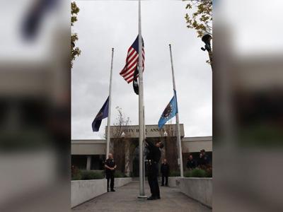 Idaho flags lowered to half-staff for fallen Bonneville County Sheriff's deputy