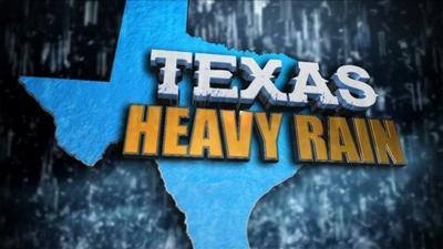 Storms flood roads, cause train derailment in Texas