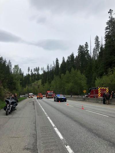 I-90 crash east of CdA 5-25