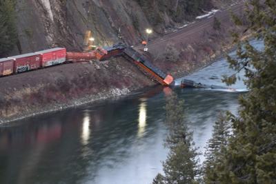 BNSF train derailment