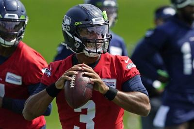 Russell Wilson 2020 camp