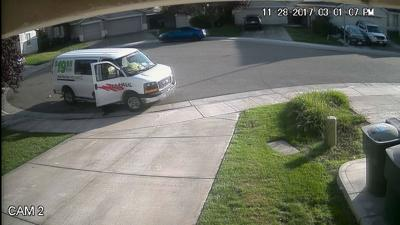 Special Delivery: Amazon contractor caught pooping in California homeowner's gutter