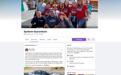 Spokane Quaranteam raises 67K to feed homeless students for the whole summer
