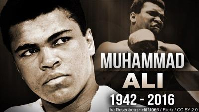 Reaction to the death of 'The Greatest' Muhammad Ali