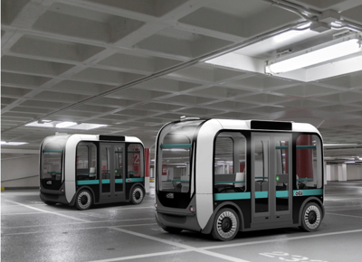 PHOTO: Olli Autonomous Shuttle Bus