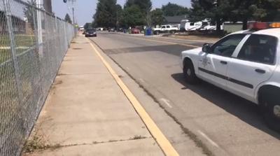 Elderly woman pronounced dead at scene of crash in Spokane Valley