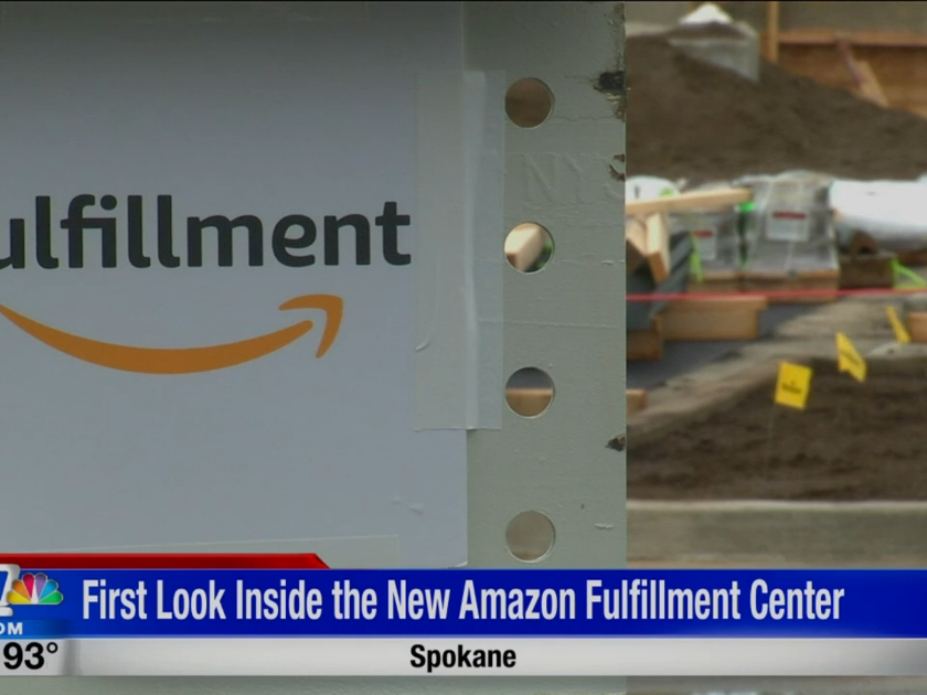 First look at Amazon's Spokane Fulfillment Center