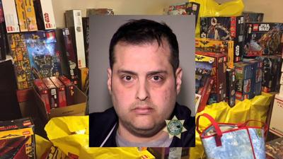 Police say leader of organized Lego theft ring had $50K in stolen sets at home