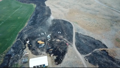 PHOTO: Spring Coulee Fire