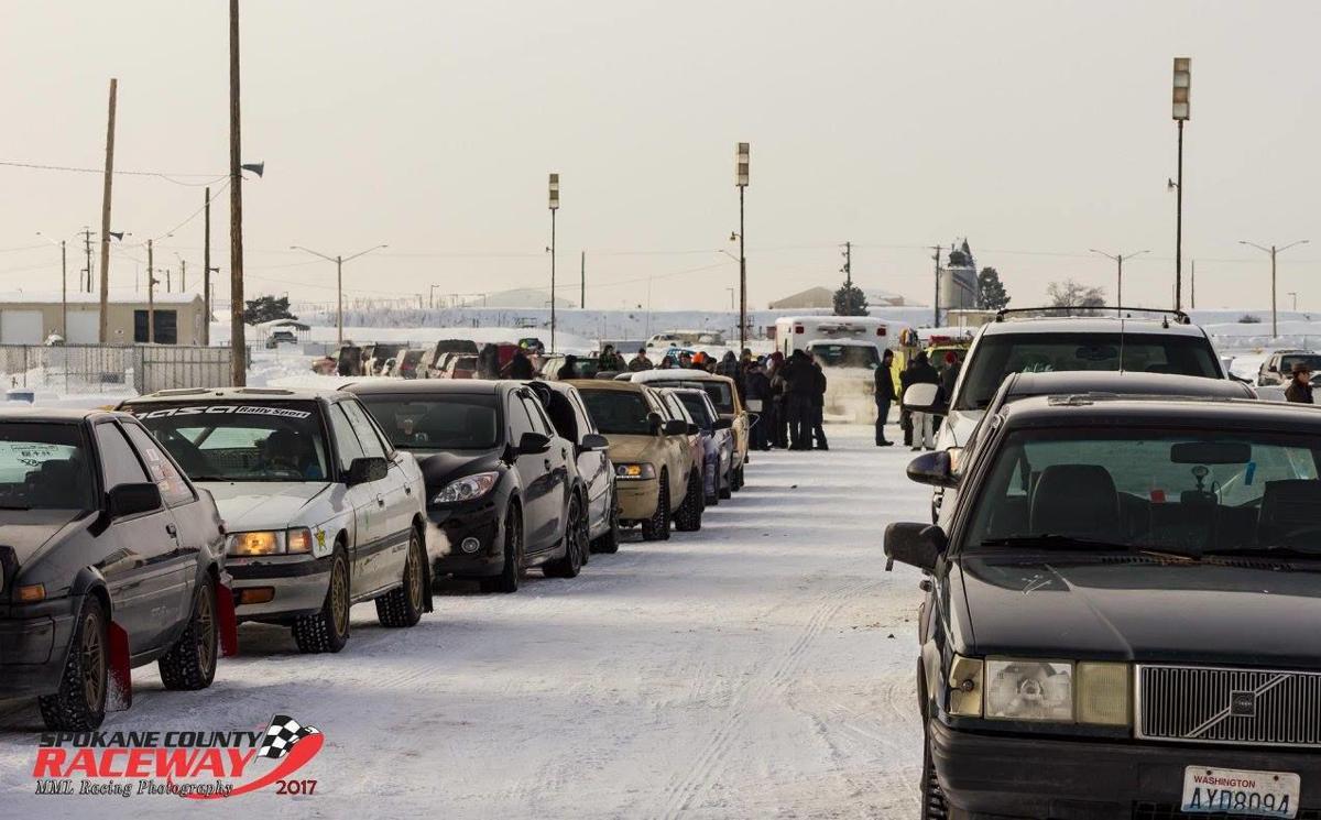 Spokane County Raceway Snow Rally
