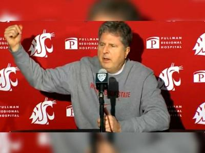 Mike Leach Apple Cup 2019