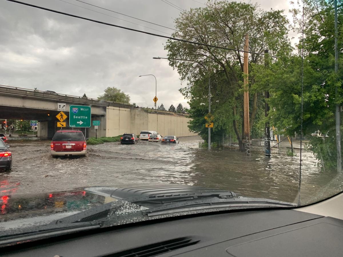 TRAFFIC ALERT: Standing water causing problems across Spokane