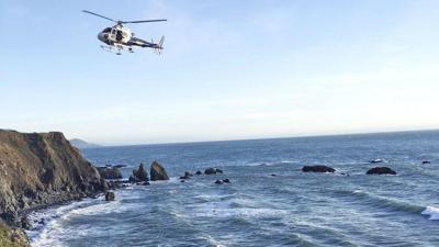 3 kids sought after cliff crash kills family