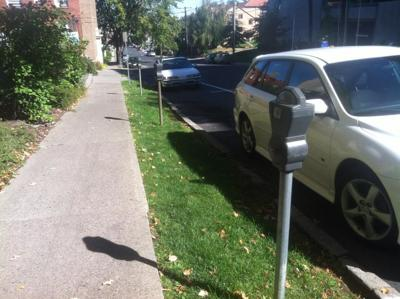 New Parking Meters on Spokane's Lower South Hill