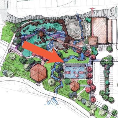 Hoopfest outdoor complex Riverfront Park
