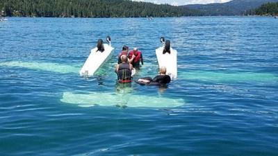 ER physician helps rescue Spokane man in Hayden Lake plane crash