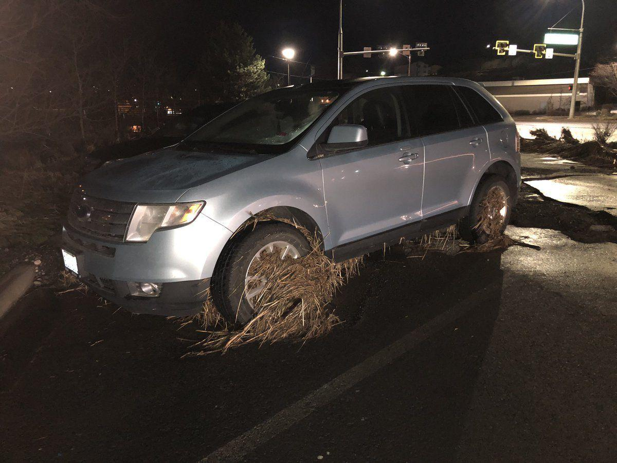 Pullman Flooded car
