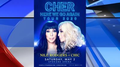 Cher Spokane Arena