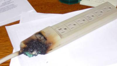 Fire Department Warns Do Not Plug E Heaters Into Strips